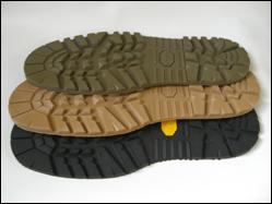 USvibram社製の登山底のフラットタイプでブーツ系の靴にお勧めです。カラーバリエーションで楽しめます。 厚さ 10mm
